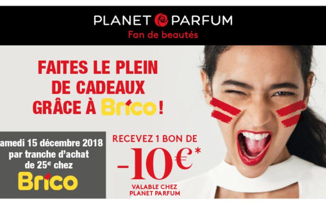 Recevez un bon de -€10 euro valable chez Planet Parfum