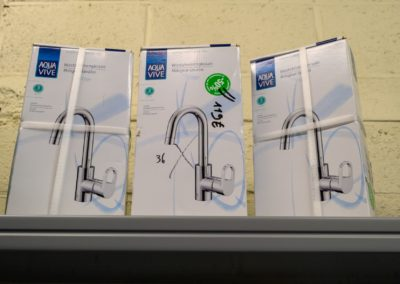 Sanitaire robinet Brico Burenville Liège