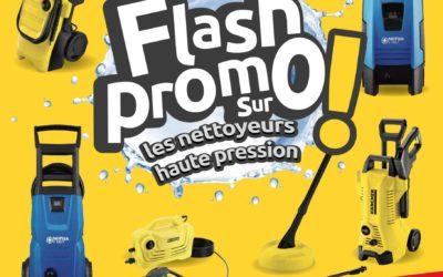 Flash Promo sur les nettoyeurs haute pression !