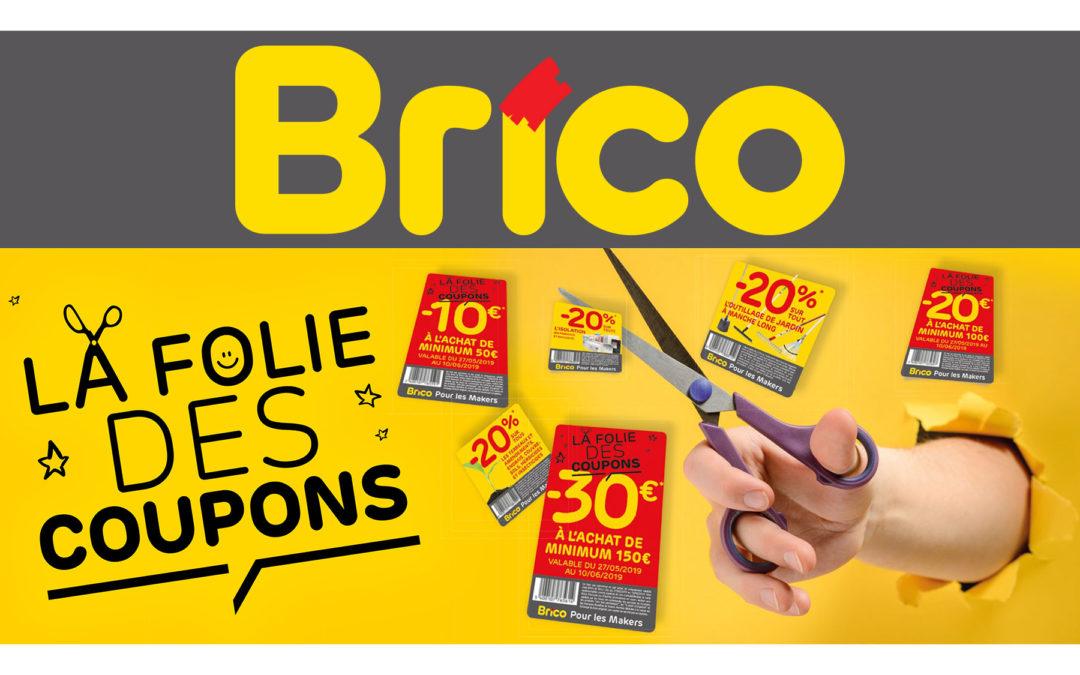 La folie des coupons chez Brico Burenville