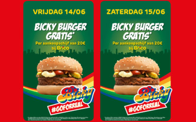 Bicky burger gratis*